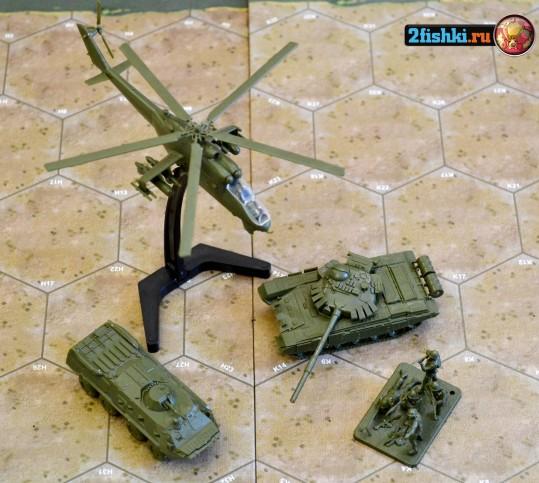 бронетранспортёра БТР-80 и