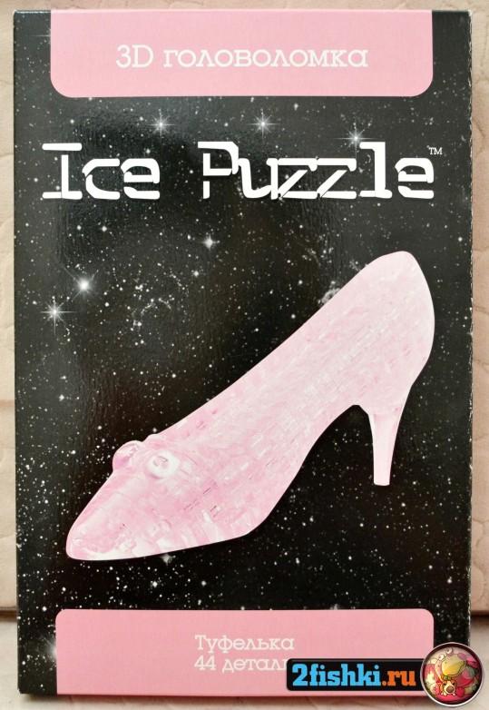 инструкция по сбору crystal puzzle туфелька